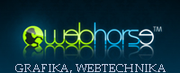 WEBHORSE grafika, webtechnika